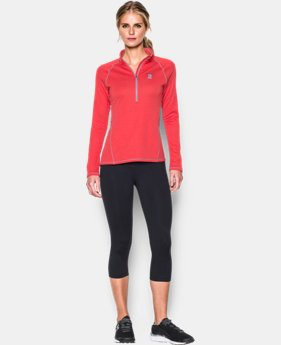 Women's Boston Red Sox UA Tech™ ½ Zip