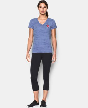 New to Outlet Women's Chicago Cubs UA Tech™ T-Shirt  1 Color $25.99