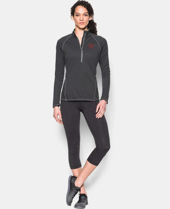 Women's Cincinnati Reds UA Tech™ 1/2 Zip LIMITED TIME: FREE U.S. SHIPPING  $44.99