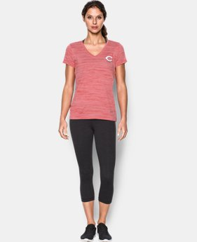 New to Outlet Women's Cincinnati Reds UA Tech™ T-Shirt  1 Color $25.99