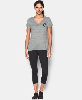 Women's Cleveland Indians UA Tech™ T-Shirt  1 Color $36.99