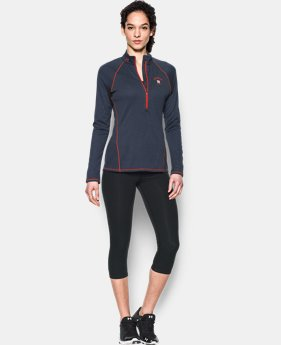 Women's Houston Astros UA Tech™ 1/2 Zip  1 Color $44.99
