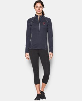 Women's Los Angeles Angels UA Tech™ ½ Zip