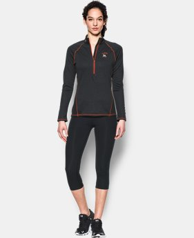 New to Outlet Women's Miami Marlins UA Tech™ 1/2 Zip  1 Color $44.99
