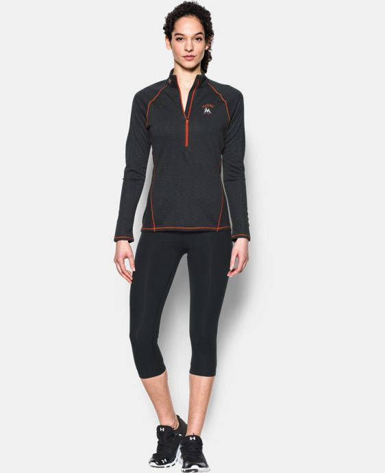 Women's Miami Marlins UA Tech™ 1/2 Zip  1 Color $33.74