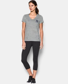 Women's New York Yankees UA Tech™ T-Shirt LIMITED TIME: FREE U.S. SHIPPING 1 Color $36.99
