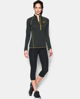 Women's Pittsburgh Pirates UA Tech™ 1/2 Zip LIMITED TIME: FREE U.S. SHIPPING 1 Color $44.99