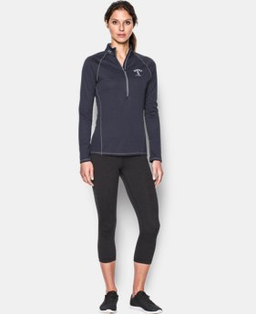 Women's Seattle Mariners UA Tech™ ½ Zip