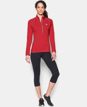 Women's Washington Nationals Tech™ ½ Zip
