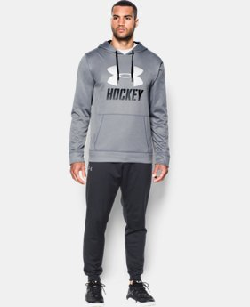 Men's UA Hockey Hoodie  1 Color $36.74