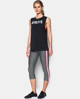 Women's UA Athlete Muscle Tank LIMITED TIME: FREE SHIPPING  $29.99