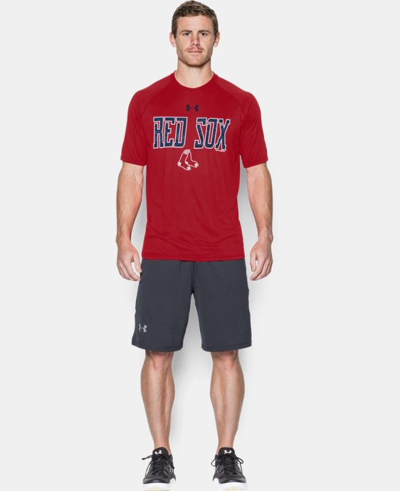 New Arrival  Men's Boston Red Sox Team Tech™ T-Shirt  1 Color $39.99
