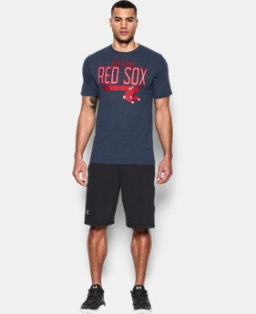 New Arrival  Men's Boston Red Sox Tri-blend T-Shirt  1 Color $39.99