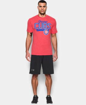 Men's Chicago Cubs Tri-blend T-Shirt
