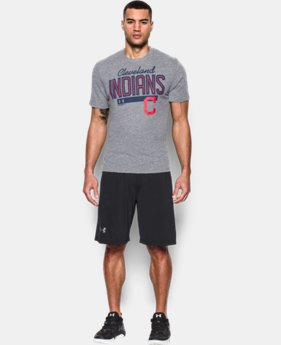New Arrival Men's Cleveland Indians Tri-blend T-Shirt LIMITED TIME: FREE SHIPPING  $34.99