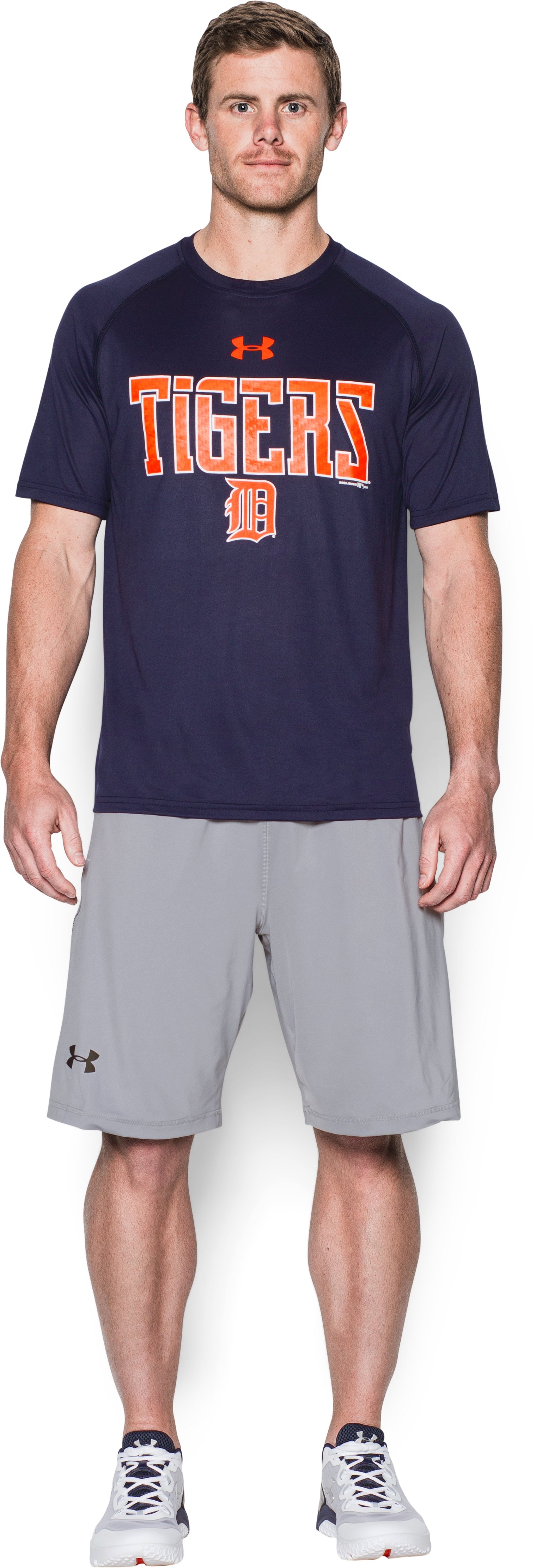 Men's Detroit Tigers Team Tech™ T-Shirt, Midnight Navy