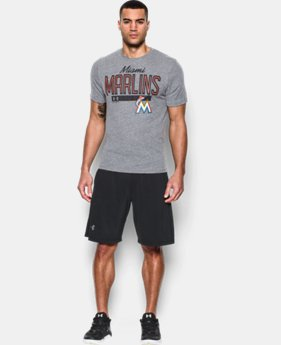 Men's Miami Marlins Tri-blend T-Shirt