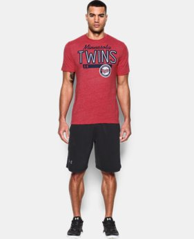 New Arrival Men's Minnesota Twins Tri-blend T-Shirt LIMITED TIME: FREE U.S. SHIPPING 1 Color $34.99