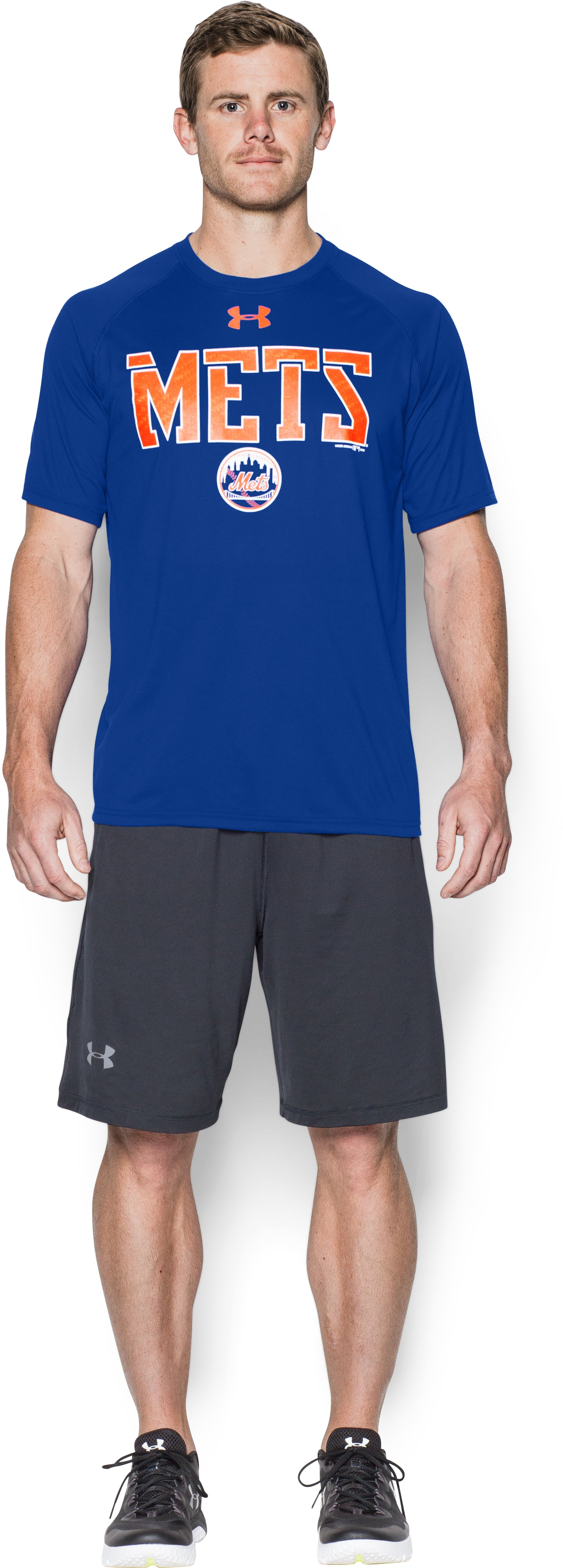 Men's New York Mets Team Tech™ T-Shirt, Royal, Front