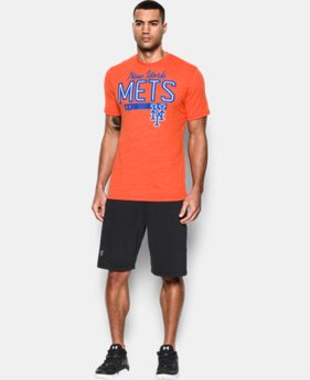 New Arrival Men's New York Mets Tri-blend T-Shirt LIMITED TIME: FREE SHIPPING  $34.99