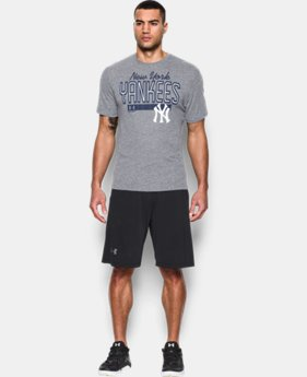 New Arrival Men's New York Yankees Tri-blend T-Shirt LIMITED TIME: FREE SHIPPING 1 Color $34.99