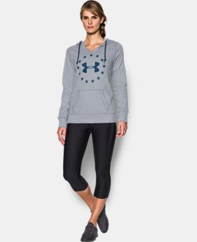 Women's UA Freedom Logo Favorite Fleece Hoodie  3 Colors $54.99