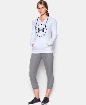 Women's UA Freedom Logo Favorite Fleece Hoodie  1  Color Available $54.99