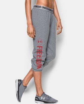 Women's UA Freedom Favorite Fleece Capris  2  Colors Available $49.99