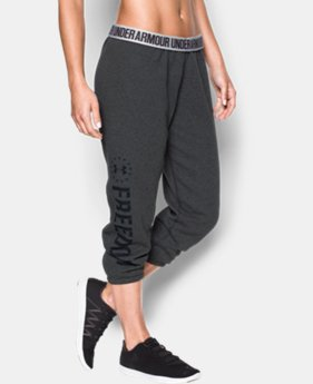 Women's UA Freedom Favorite Fleece Capris