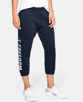 Women's UA Freedom Favorite Fleece Capris  1  Color Available $49.99