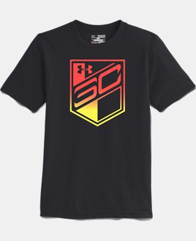 Boys' SC30 Charged Badge 2 T-Shirt