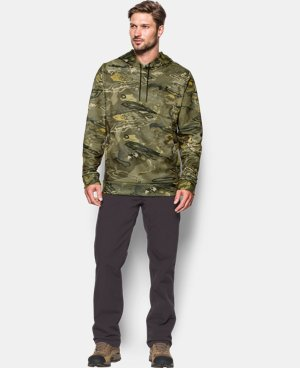 New to Outlet Men's UA Storm Camo Hoodie   $56.99