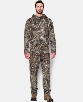 Men's UA Storm Camo Hoodie LIMITED TIME OFFER 1 Color $63.74