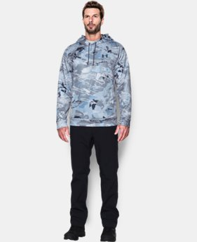 New Arrival  Men's UA Storm Armour Fleece®  Camo Hoodie  4 Colors $84.99
