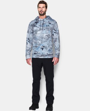 New Arrival  Men's UA Storm Armour Fleece®  Camo Hoodie   $63.74