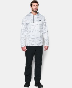 Men's UA Storm Camo Hoodie LIMITED TIME OFFER 1 Color $56.24