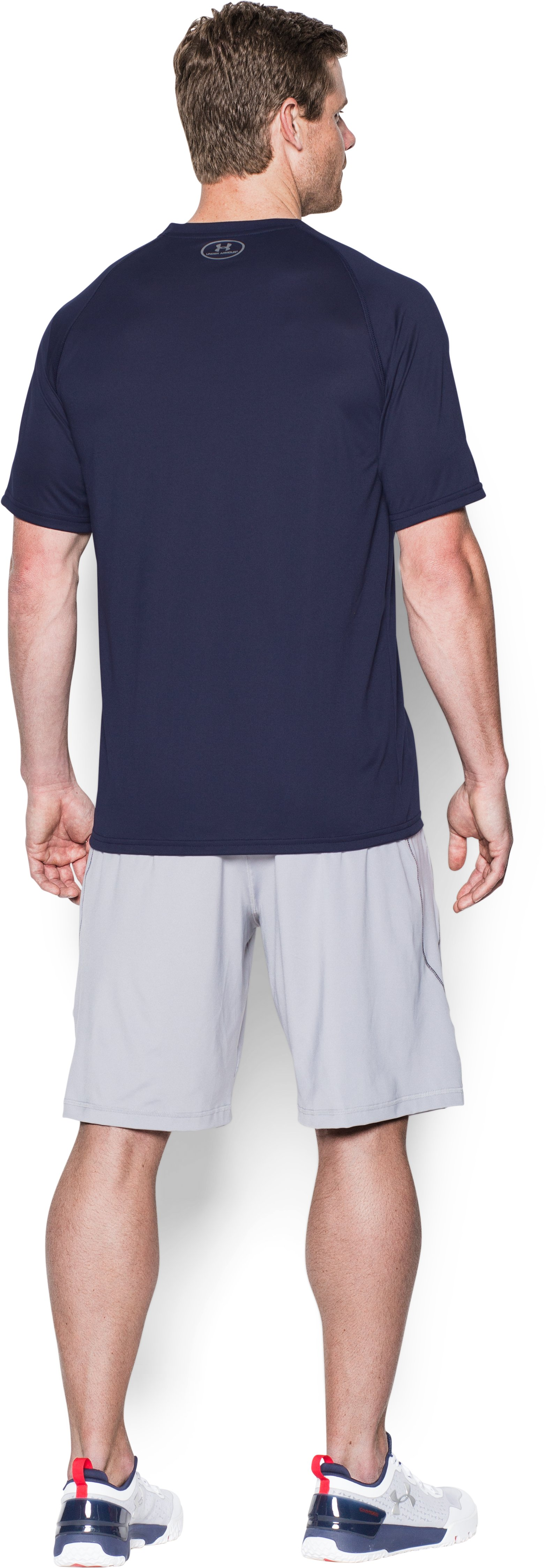 Men's San Diego Padres Team Tech™ T-Shirt, Midnight Navy, Back