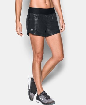 Women's UA Run True Printed Shorts  1 Color $34.99 to $37.99