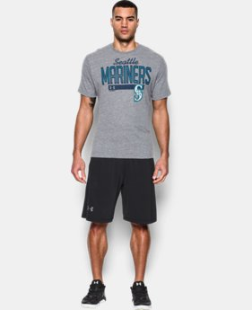 New Arrival  Men's Seattle Mariners Tri-blend T-Shirt   $39.99