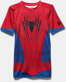 Boys' Under Armour® Alter Ego Spider-Man Fitted Shirt