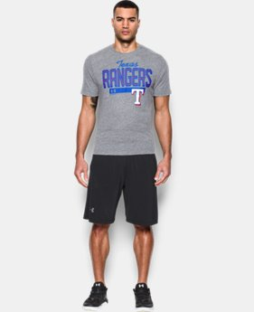 New Arrival Men's Texas Rangers Tri-blend T-Shirt  1 Color $34.99