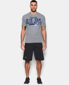 Best Seller  Men's Toronto Blue Jays Tri-Blend T-Shirt LIMITED TIME: FREE SHIPPING 1 Color $39.99