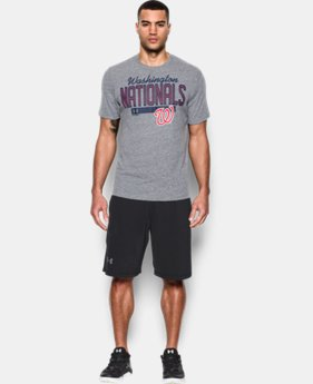 New Arrival Men's Washington Nationals Tri-blend T-Shirt LIMITED TIME: FREE SHIPPING 1 Color $34.99