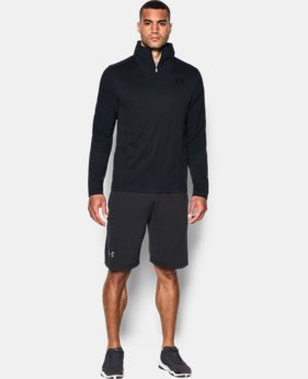 New Arrival  Men's UA ColdGear® Infrared Grid ½ Zip  LIMITED TIME: FREE SHIPPING 4 Colors $79.99