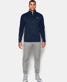 New Arrival Men's UA ColdGear® Infrared Grid ½ Zip   1 Color $69.99