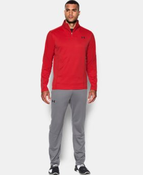 New Arrival  Men's UA ColdGear® Infrared Grid ½ Zip  LIMITED TIME: FREE SHIPPING 1 Color $79.99