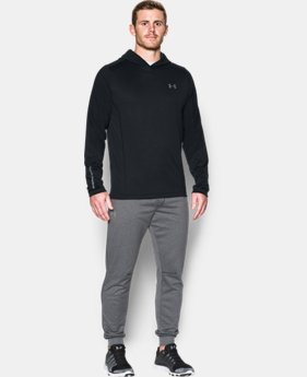 New Arrival  Men's UA ColdGear® Infrared Grid Pullover Hoodie   $79.99