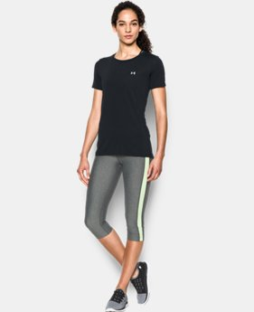 Women's UA HeatGear® Armour Short Sleeve  3 Colors $32.99