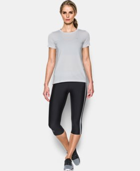 Women's UA HeatGear® Armour Short Sleeve  4 Colors $27.99