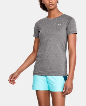 Women's HeatGear® Short Sleeve  4  Colors Available $32.99